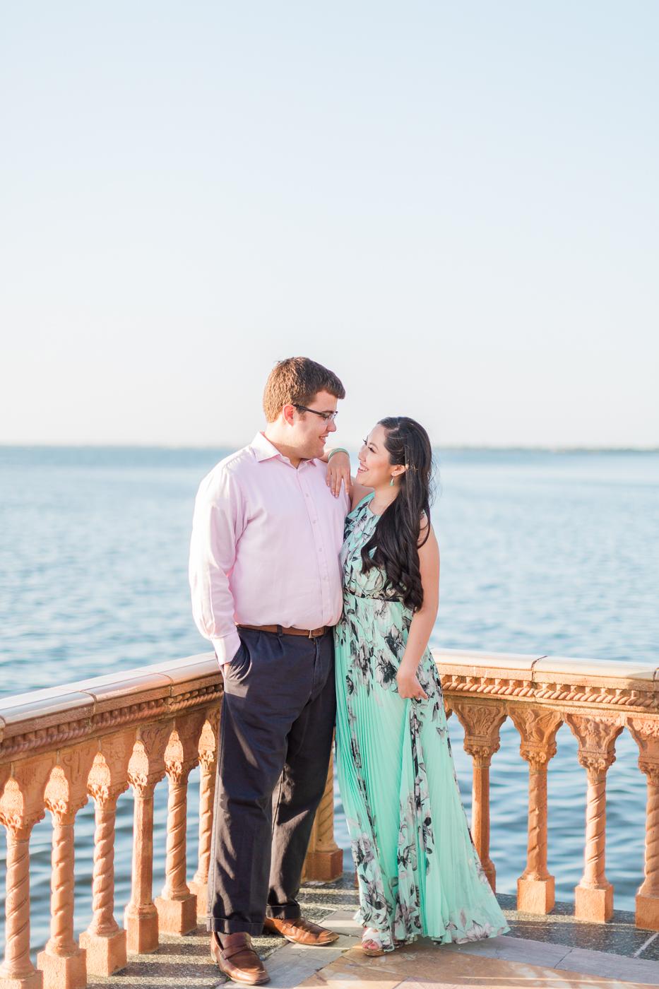 Ringling Museum of Art Sarasota Ca'd'Zan Mansion Engagement Photography