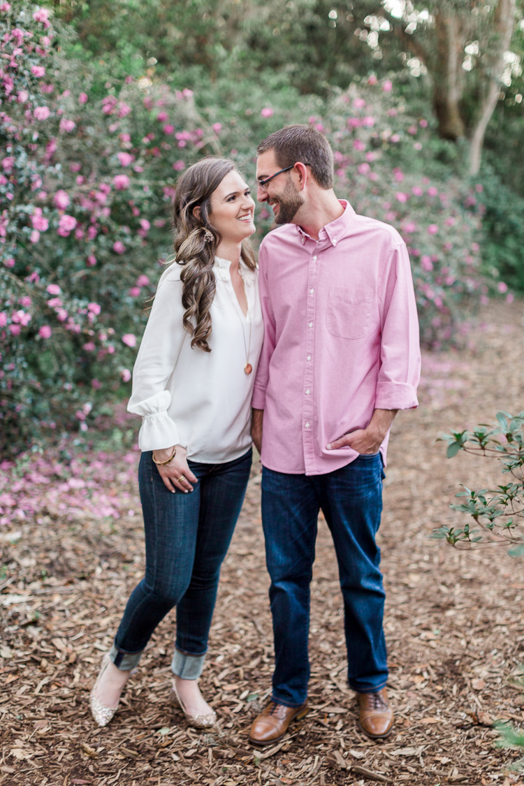 Copy of Romantic Engagement Session at Bok Tower Gardens, Lake Wales Florida