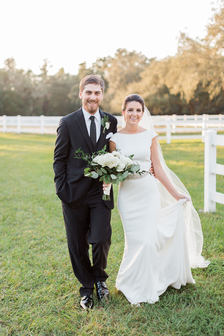 Chic Garden House Wedding at the Lange Farm, Florida