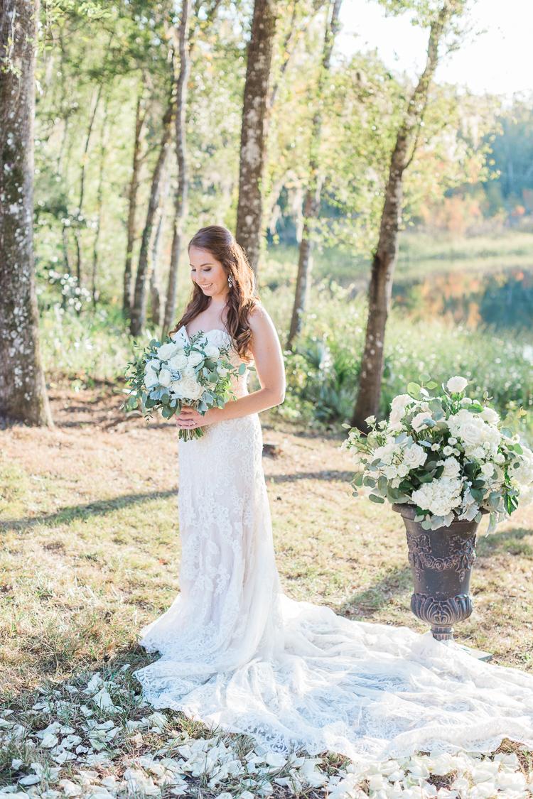Elegant Tented Backyard, Lakefront Wedding On Grandparent's Land In Brooksville, Florida | Tampa, Miami Florida Fine Art Wedding Photographer