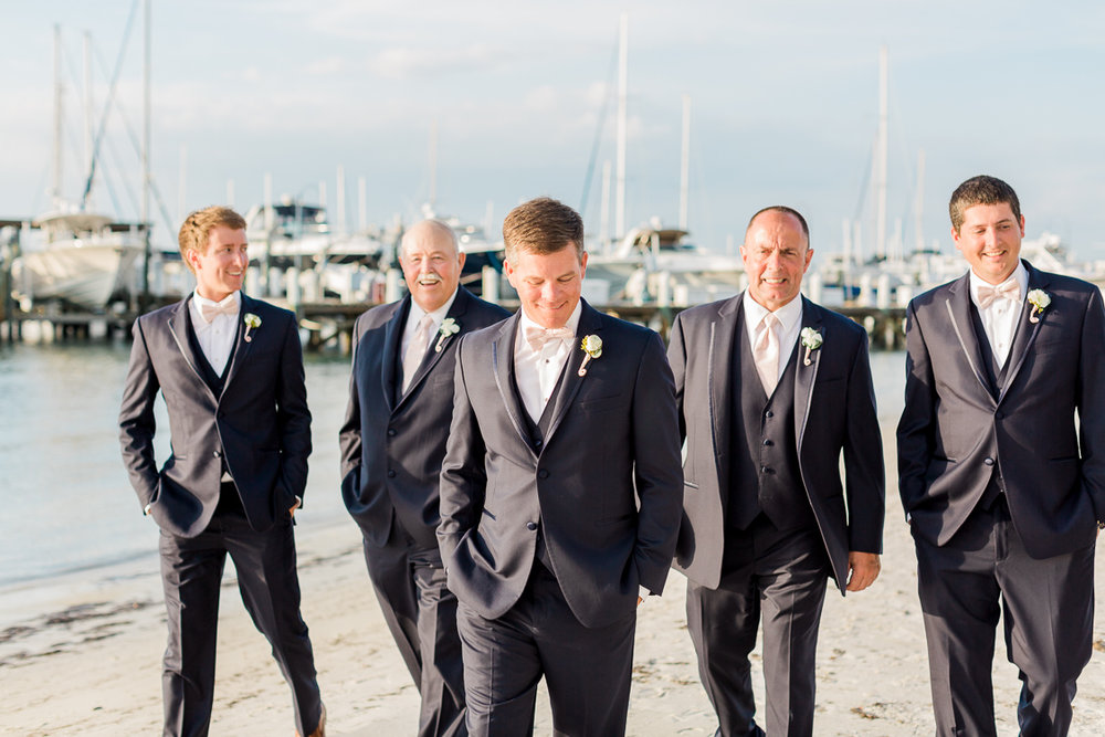 Beachside Wedding At Isla Del Sol Yacht & Country Club | St. petersburg Tampa Wedding Fine Art Film Photographer