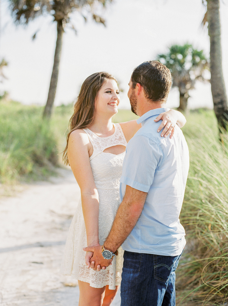 Florida Beach Film Engagement Photographer, Fort De Soto Park, St. Petersburg, Tampa Wedding, Lauren Galloway Photography