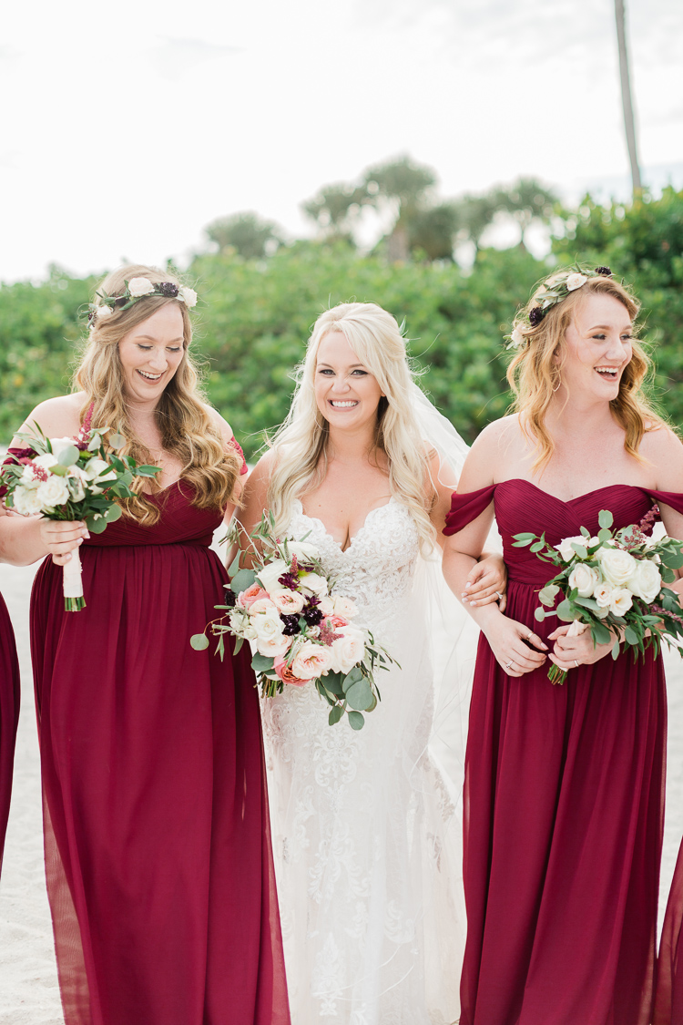 Bohemian Florida Beach Wedding At The Postcard Inn | Lauren Galloway Photography