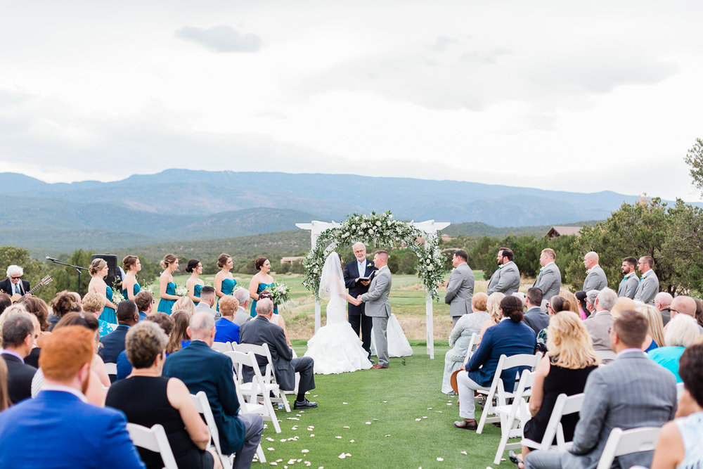 New Mexico Paako Ridge Golf Club Wedding Albuquerque Photo | Lauren Galloway Photography-51.jpg