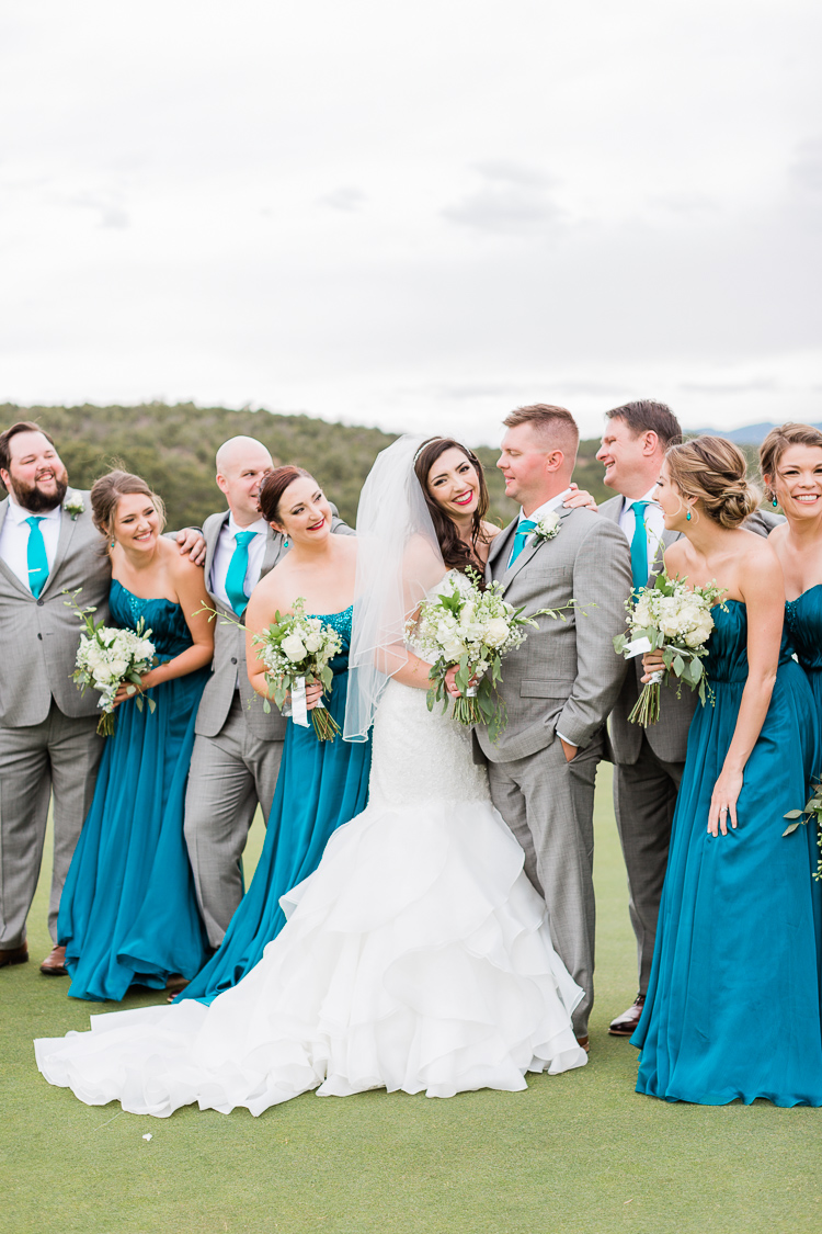 New Mexico Paako Ridge Golf Club Wedding Albuquerque Photo | Lauren Galloway Photography-66.jpg