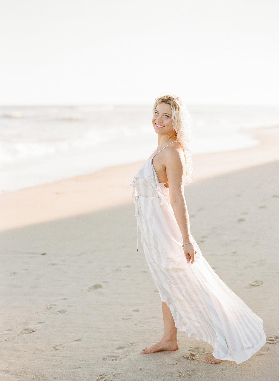 Lauren Galloway Photography | Montauk, New York Sunset Beach Engagement