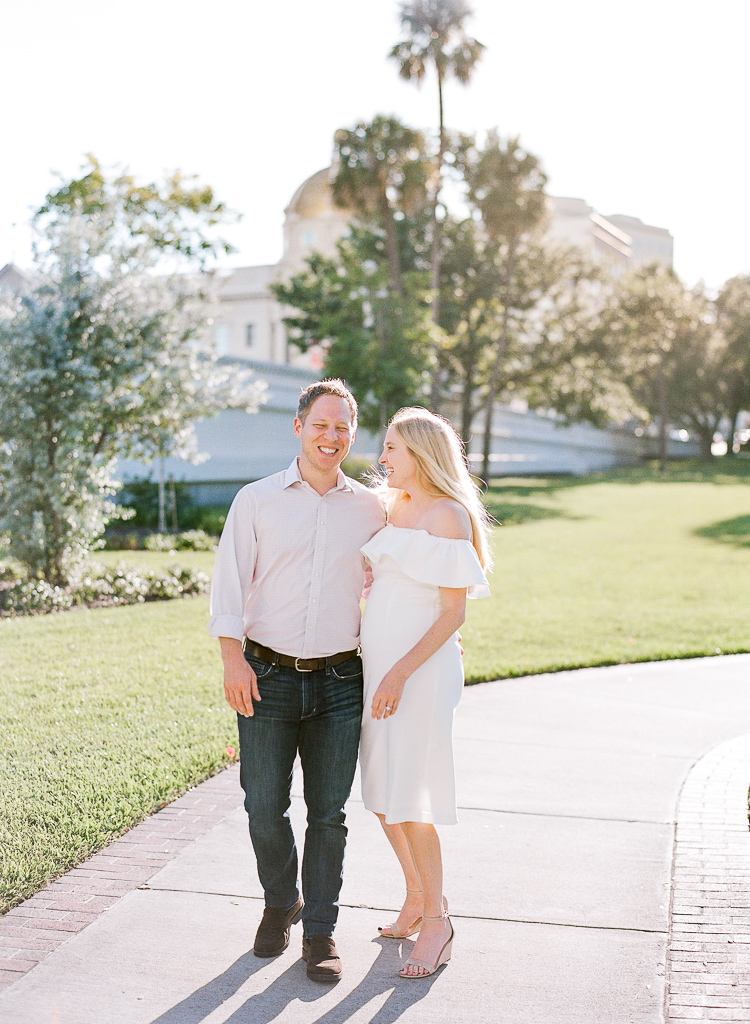 Lauren Galloway Photography | South Tampa Engagement at The University of Tampa