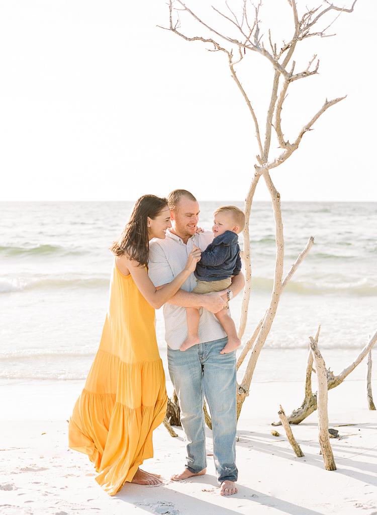 Lauren Galloway Photography | Longboat Key Beach Fall Family Session