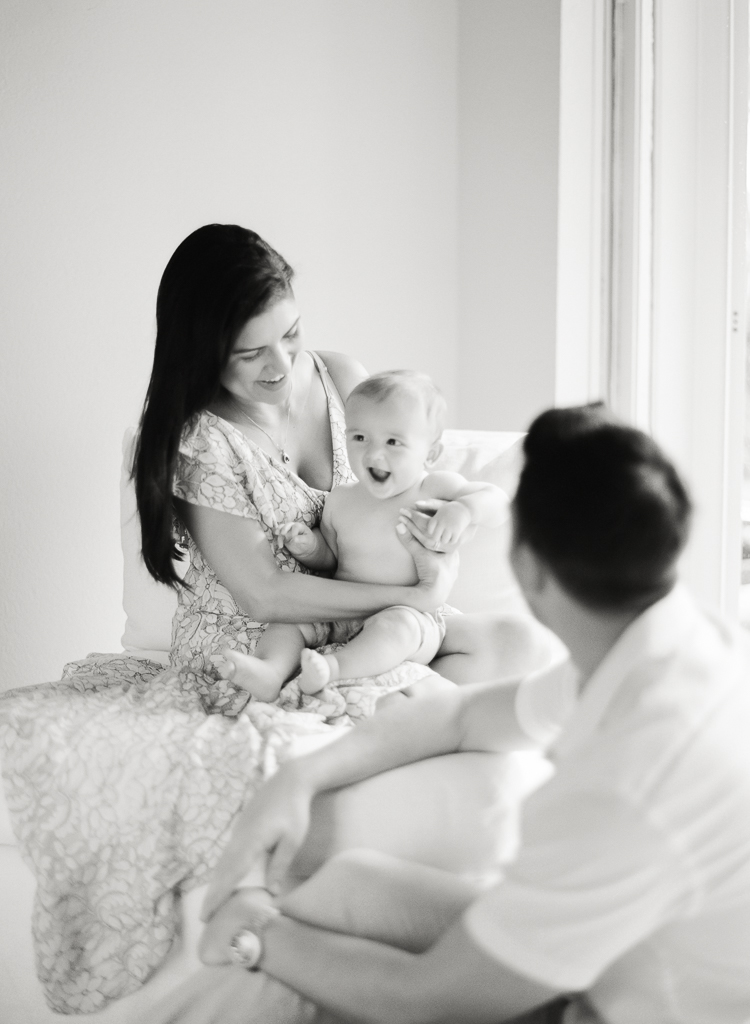 Lauren Galloway Photography | Boca Raton At Home Family Portrait | West Palm Beach, Miami Family Film Fine Art Photographer