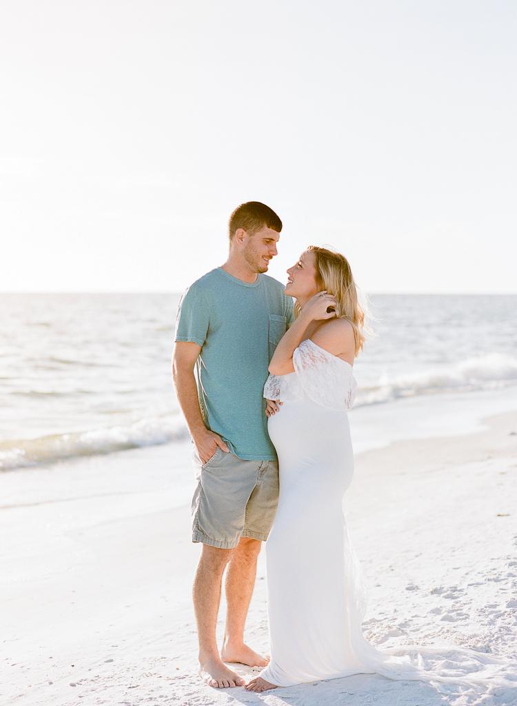 Lauren Galloway Photography | Florida Beach Maternity at Siesta Key