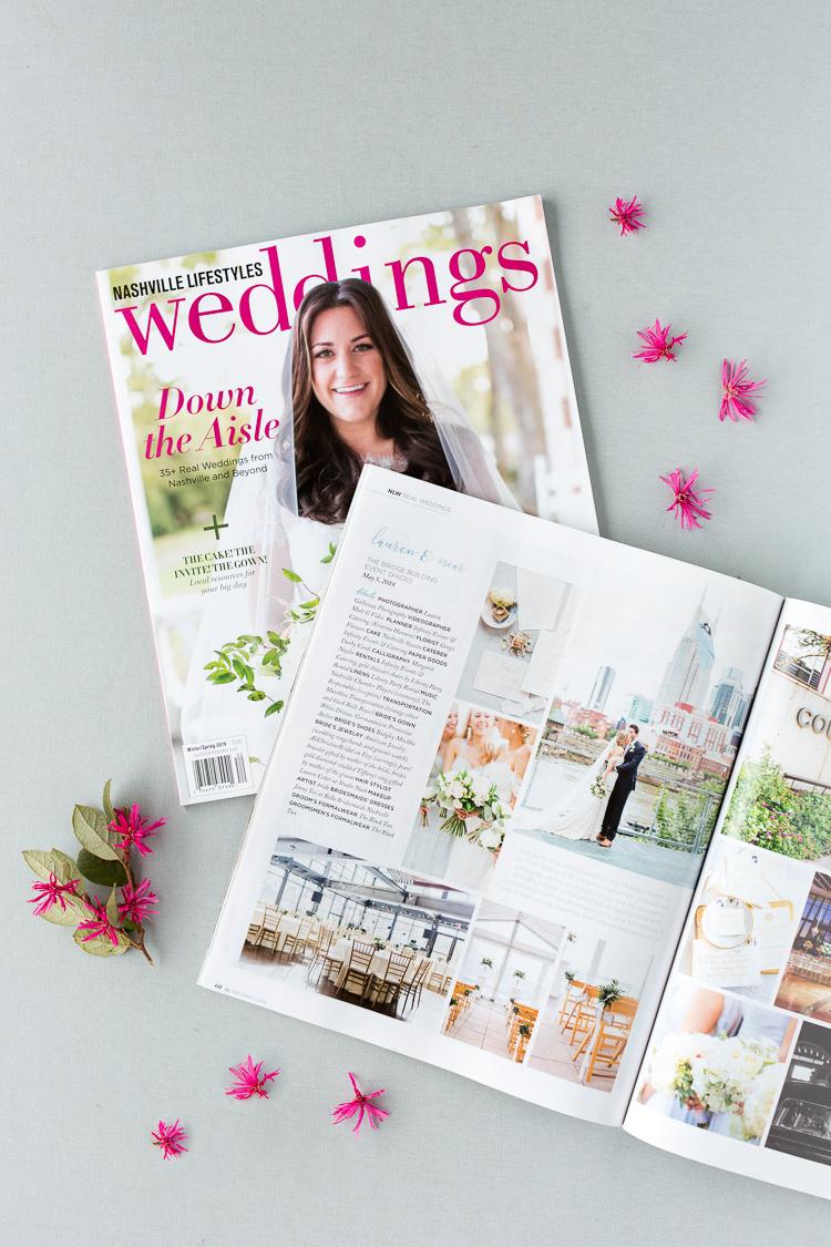 Lauren Gallloway | Published on Nashville Lifestyles Weddings Magazine | Nashville Wedding Photographer