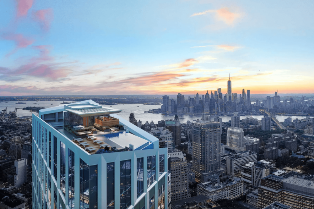 The Pool Is Taking The Title Away From Long Island Cityu0027s 500 Foot 1 QPS  Tower. Curbedreports That It U201cwill Be Perched 680 Feet Above Downtown  Brooklyn, ...