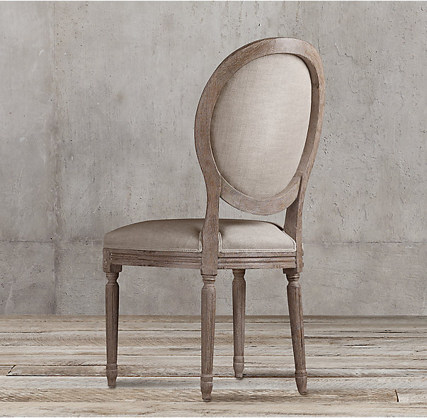 Chair from Restoration Hardware.