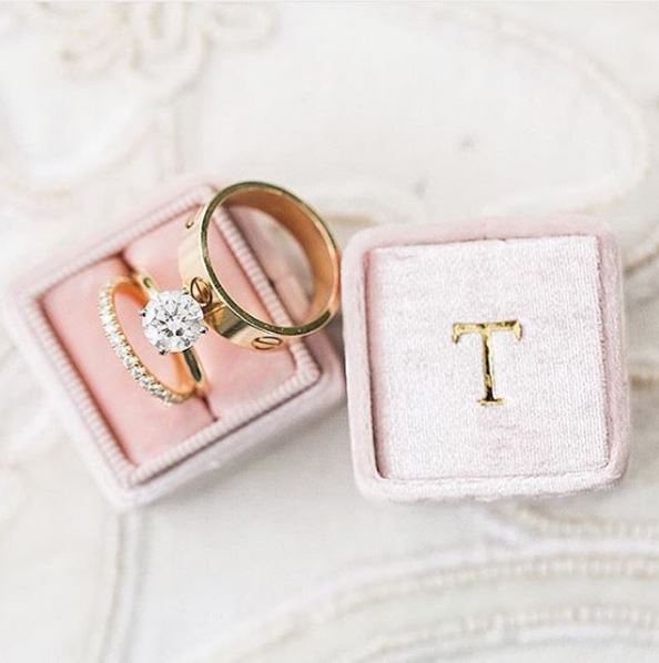 The Mrs Box Ring Box