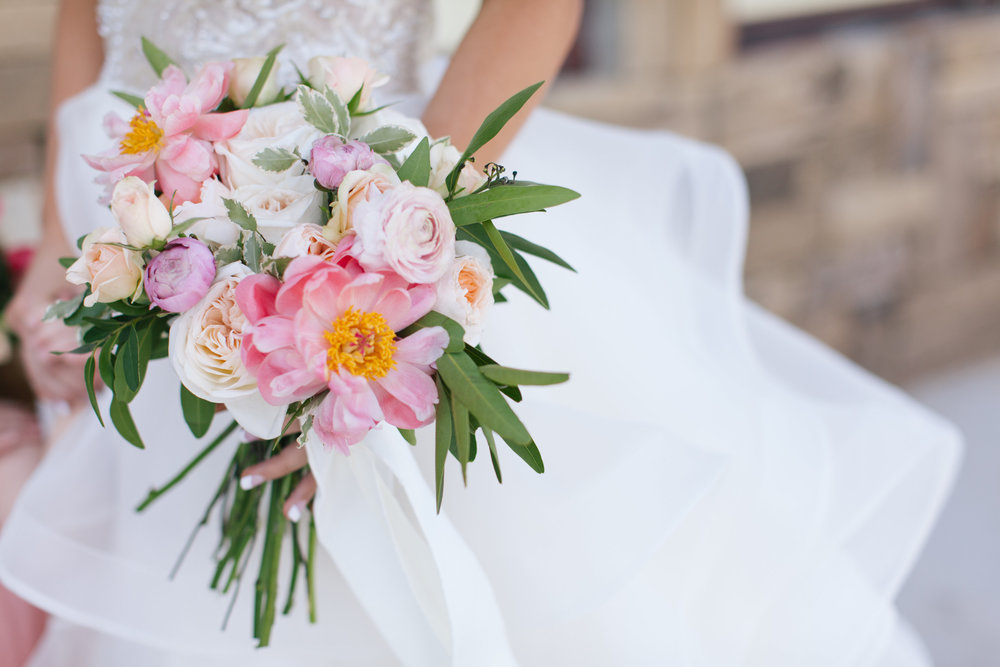 Bliss OKC | Melanie Foster | Sweet Peach Styled Shoot | Bridal Bouquet