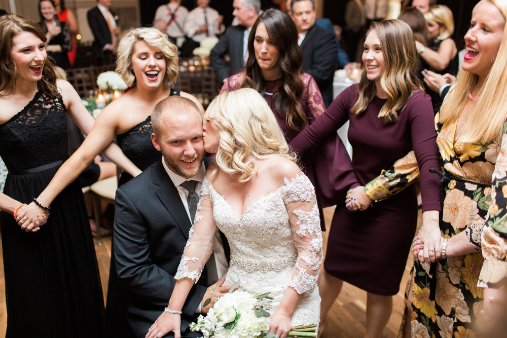 Magnolia Adams Photography | Wedding Reception | Sorority song