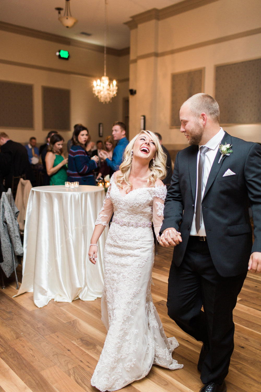 Magnolia Adams Photography | Bride and Groom | Reception