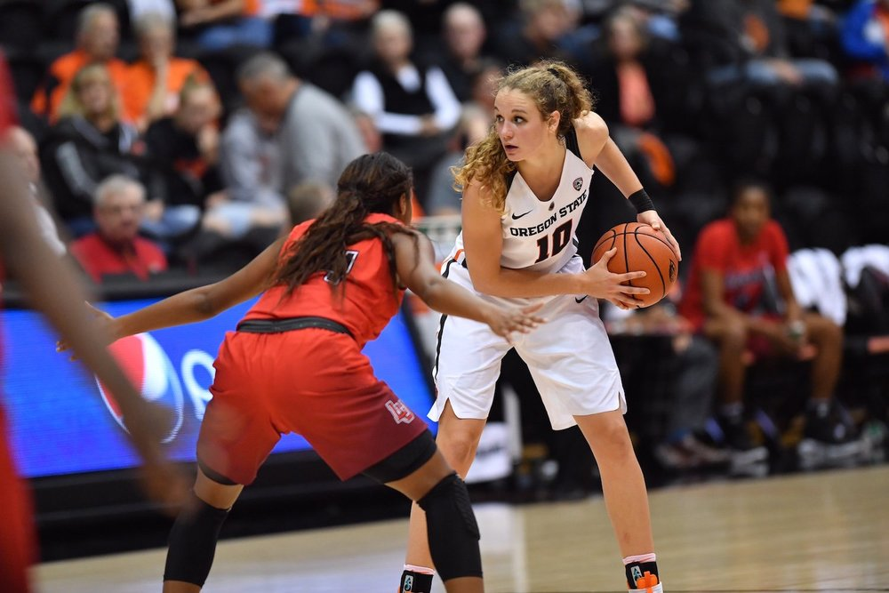 Katie McWilliams (Oregon State, All Pac-12) -