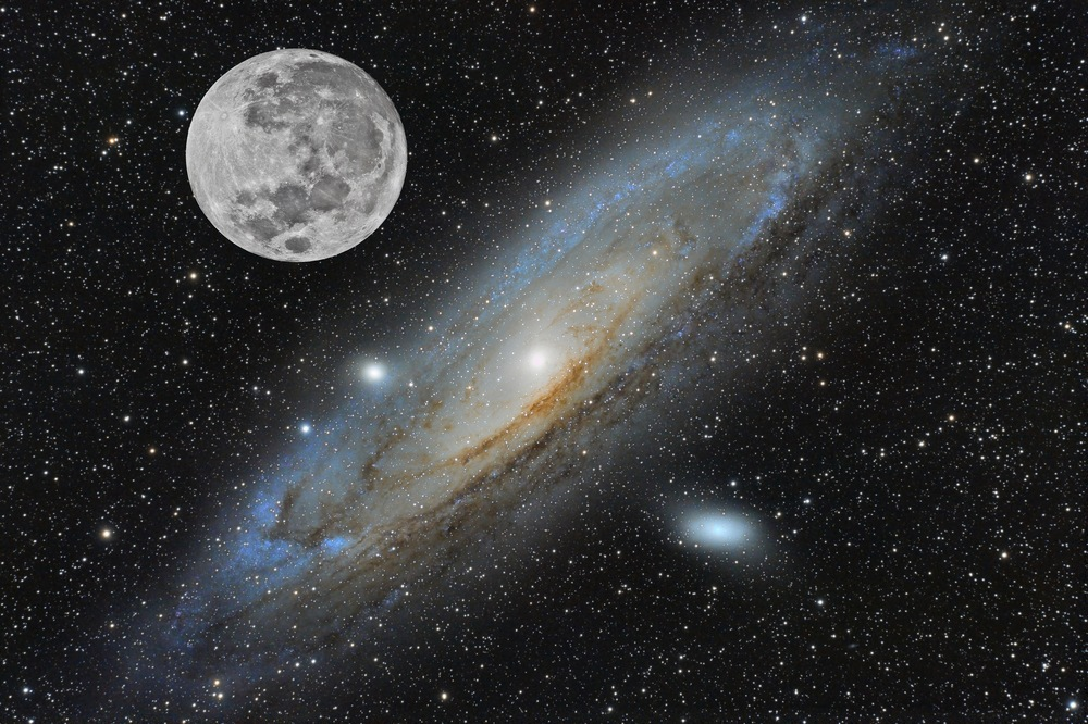 How big is Andromeda?