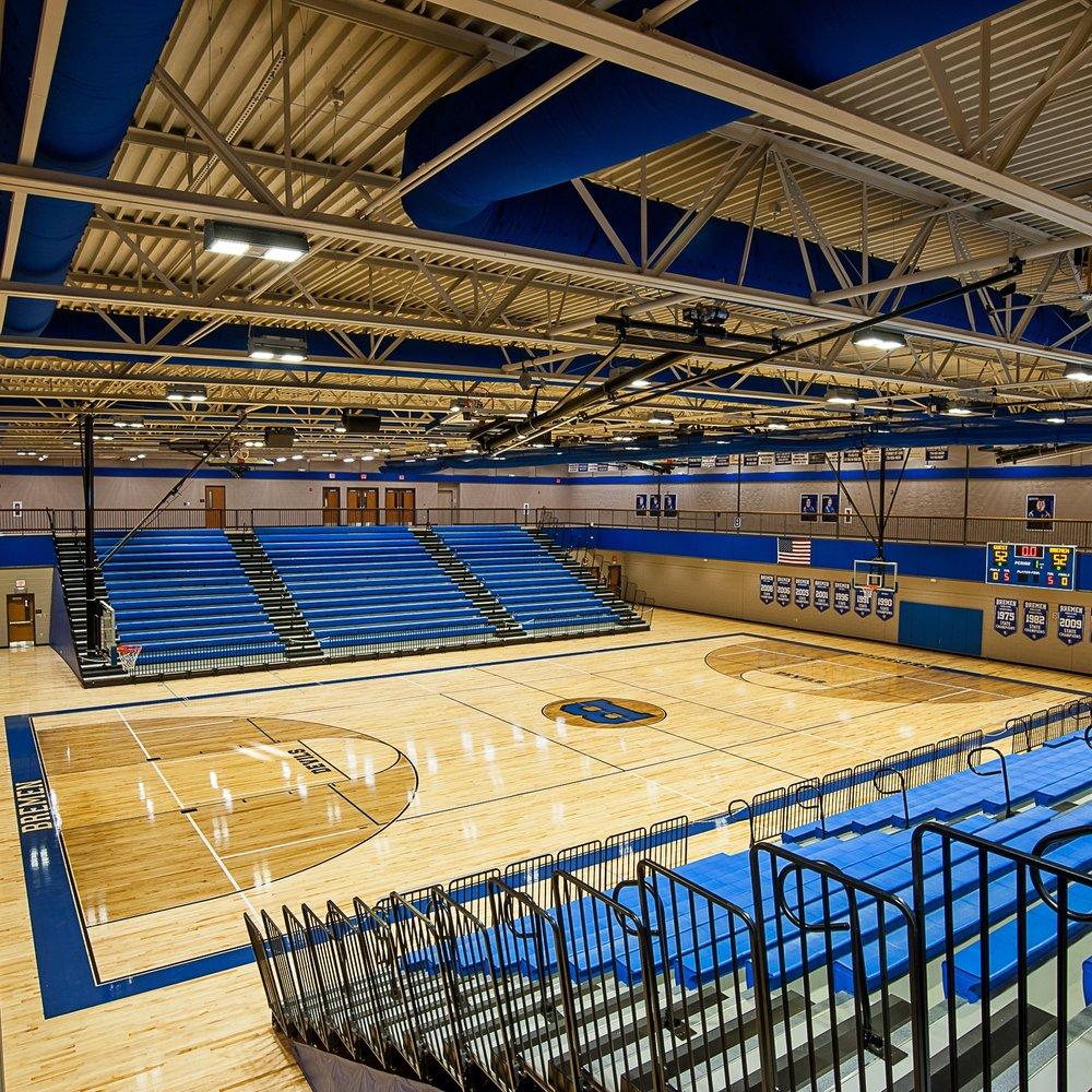 NEW Bremen High School Gymnasium  -