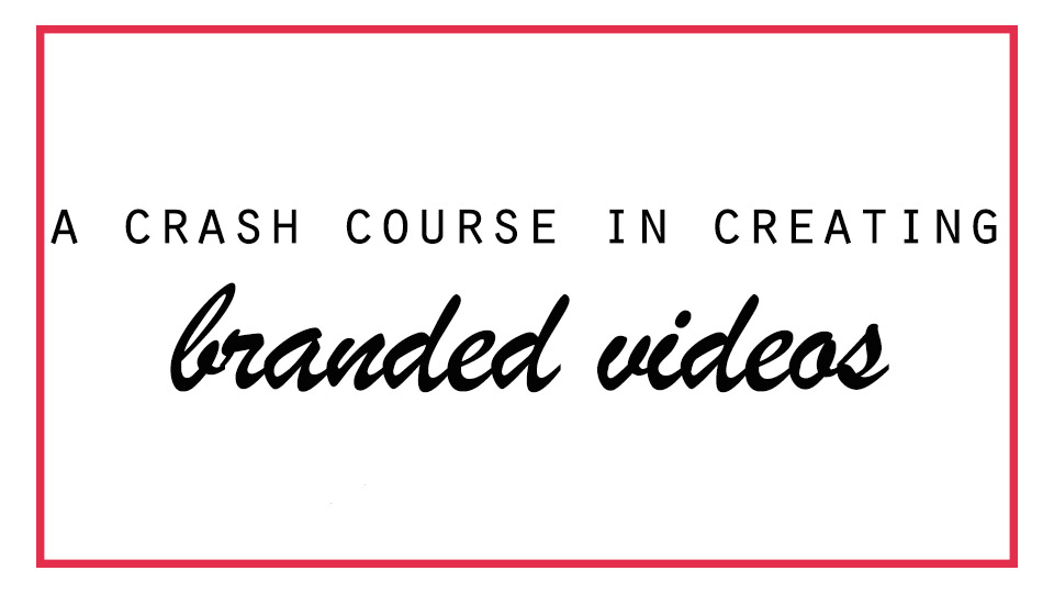 a mini course about creating videos for your business