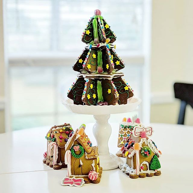 It's gingerbread house day.  My most dreaded day because I get icing everywhere, break at least four pieces, and say lots of bad words.  But it's a tradition and I'm all up for traditions these days. Even if they aren't my favorites.  What's your easy to do and doesn't make a mess tradition for the holidays?
