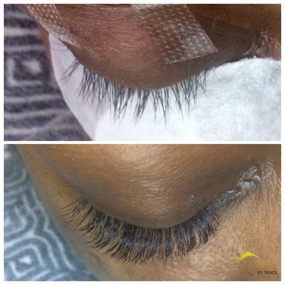 Volume Lashes Lashes By Tandi