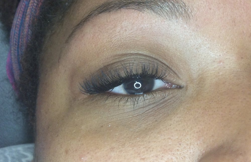 Volume 3D eyelash extensions white plains NY