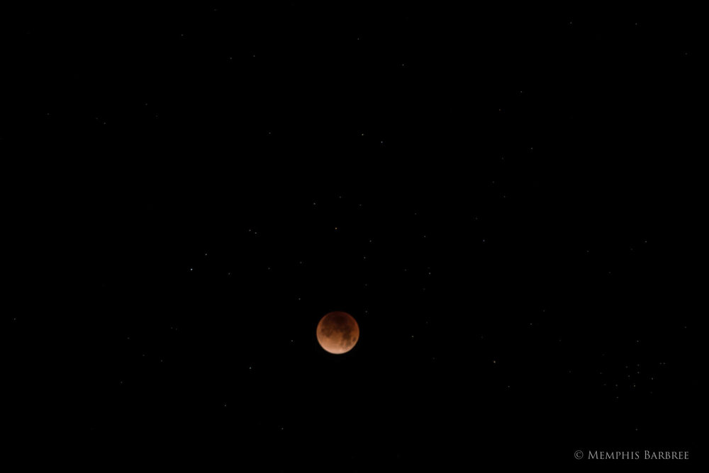Blue Moon, Blood Moon, Lunar Eclipse, January 31, 2018