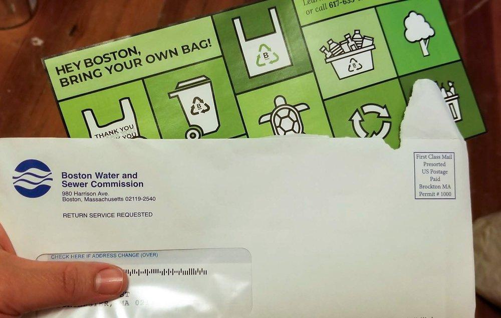 Water Bill Insert