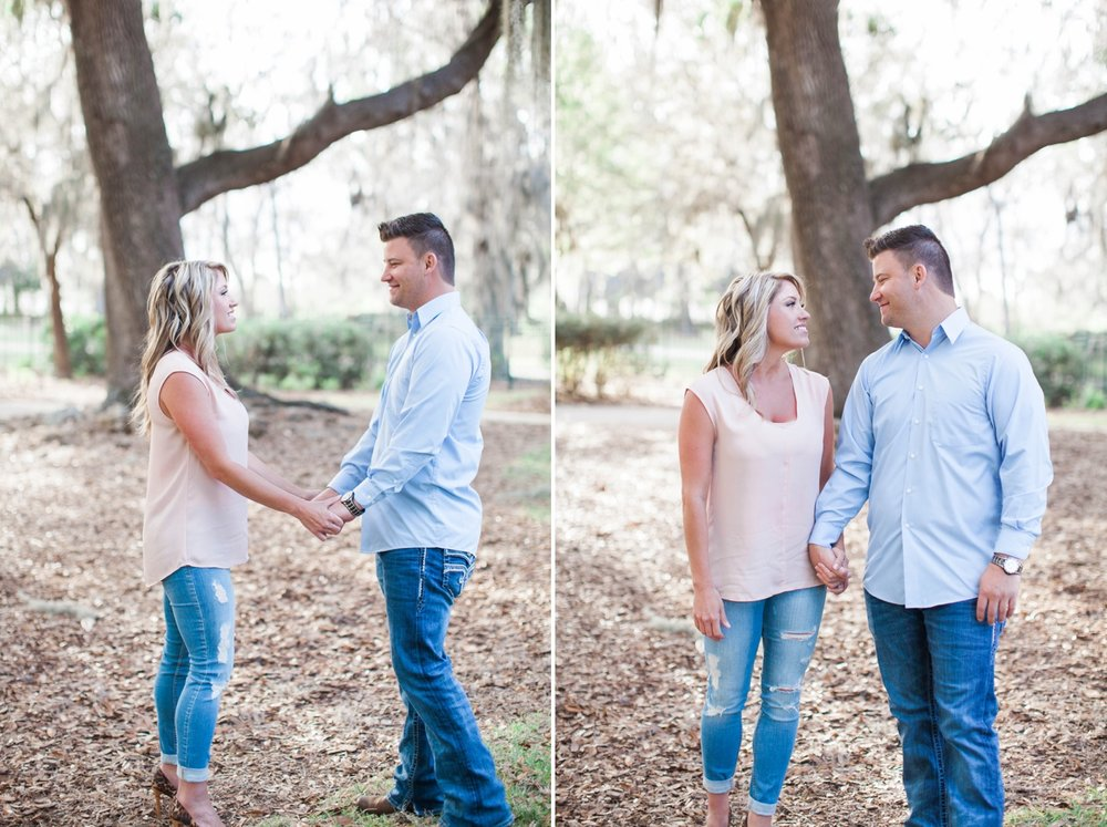 spring-engagement-session