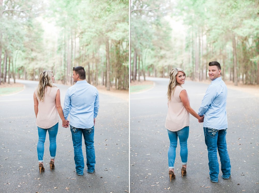 woodsy-engagement-session