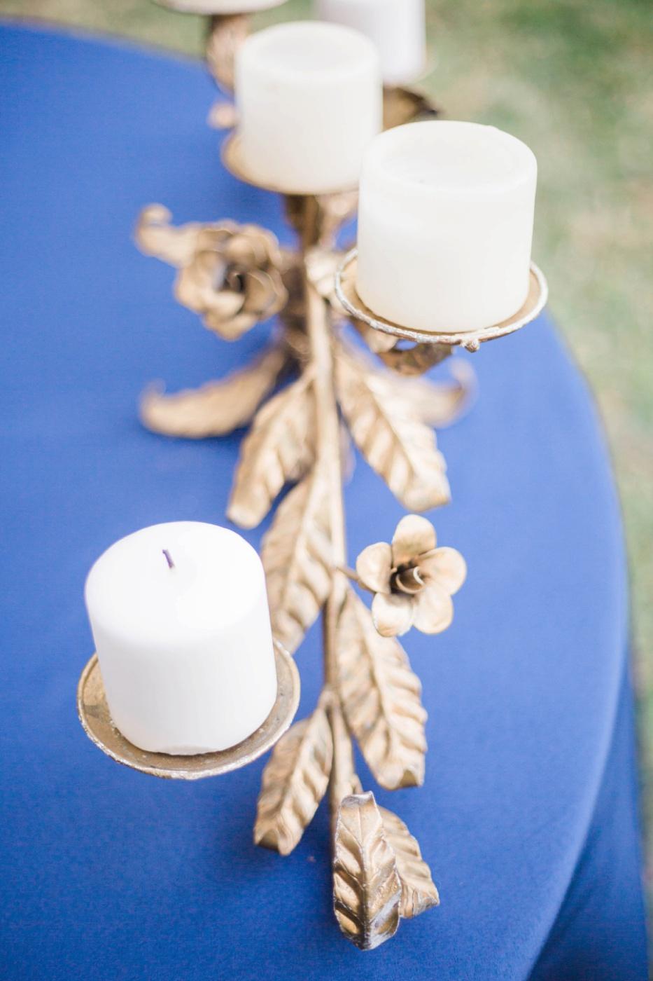 wedding-gold-candle