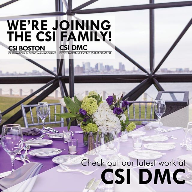 BIG NEWS! We are thrilled to announce that we will be joining the CSI DMC @csidmc family!  Check out the link in our bio for more details and to check out our latest work! #CSIDMC #CSIBoston
