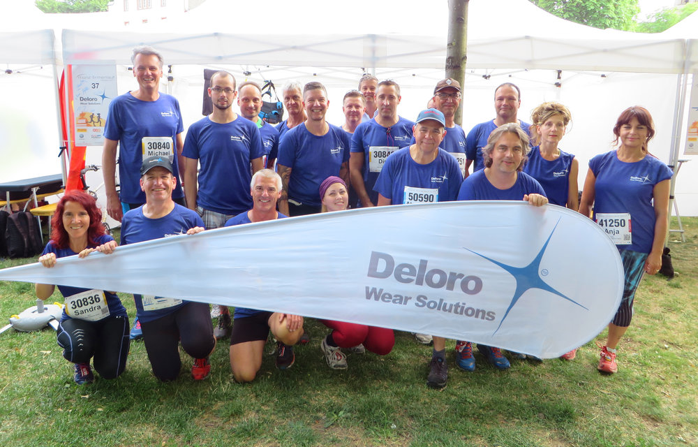 "On June 23rd Deloro participated with 25 team members and fans at the famous yearly ""MÜNZ"" -  running event in Koblenz. The team started in different groups at 05:00 p.m. under excellent weather conditions! Congratulations and thanks to all who joined us!"