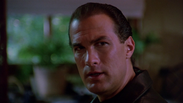 Steven Seagal  IS  Mason Storm in  Hard to Kill