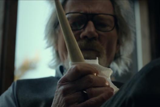 Michael Parks as Howard Howe in  Tusk