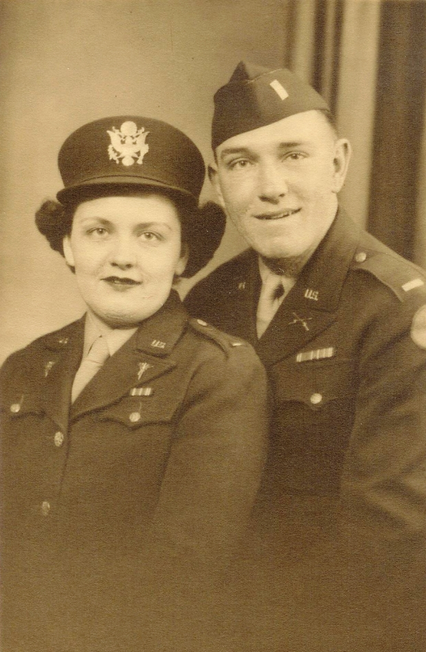 My grandfather and great-aunt.