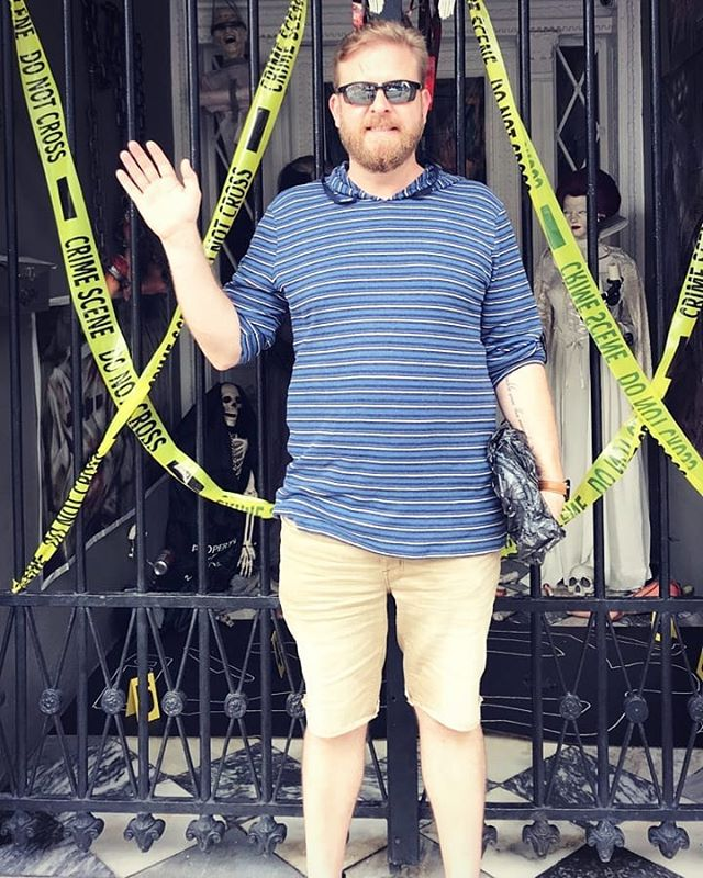 Doing the tourist thing. 🤠  #neworleans #nola #lalauriemansion #hauntings #spooky #Halloween #history #vacation #roadtrip #instahorror #instalove
