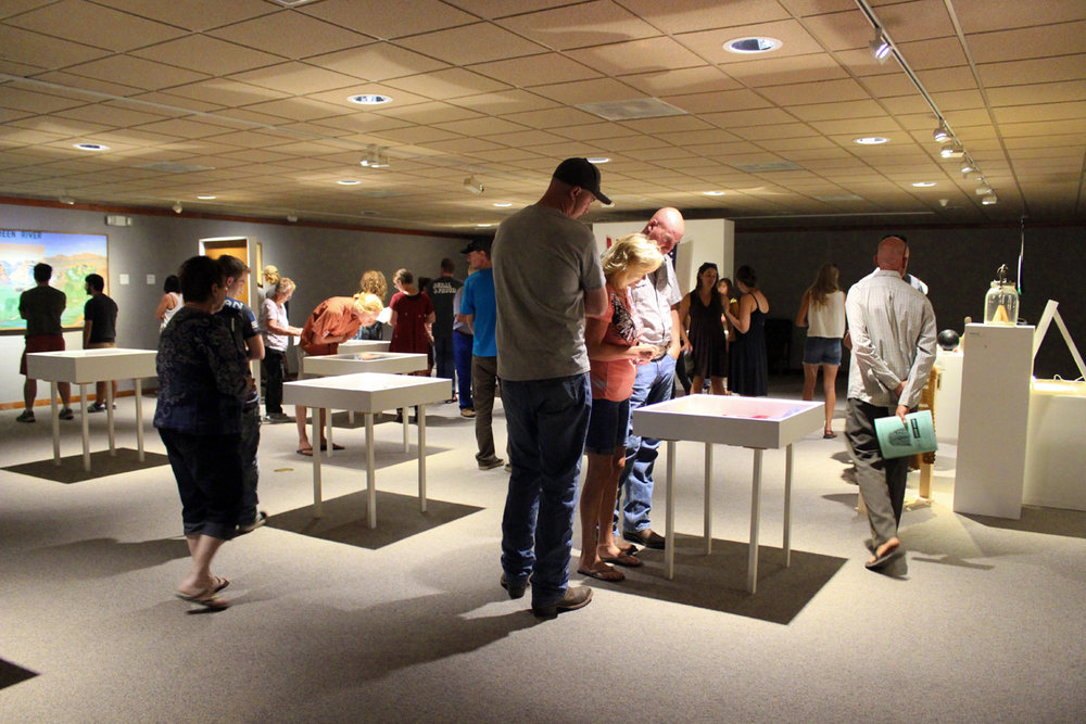 "Photo from the ""This Is Green River"" exhibit opening at the John Wesley Powell River History Museum."