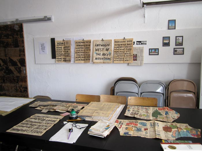 My workspace at Epicenter, 2011