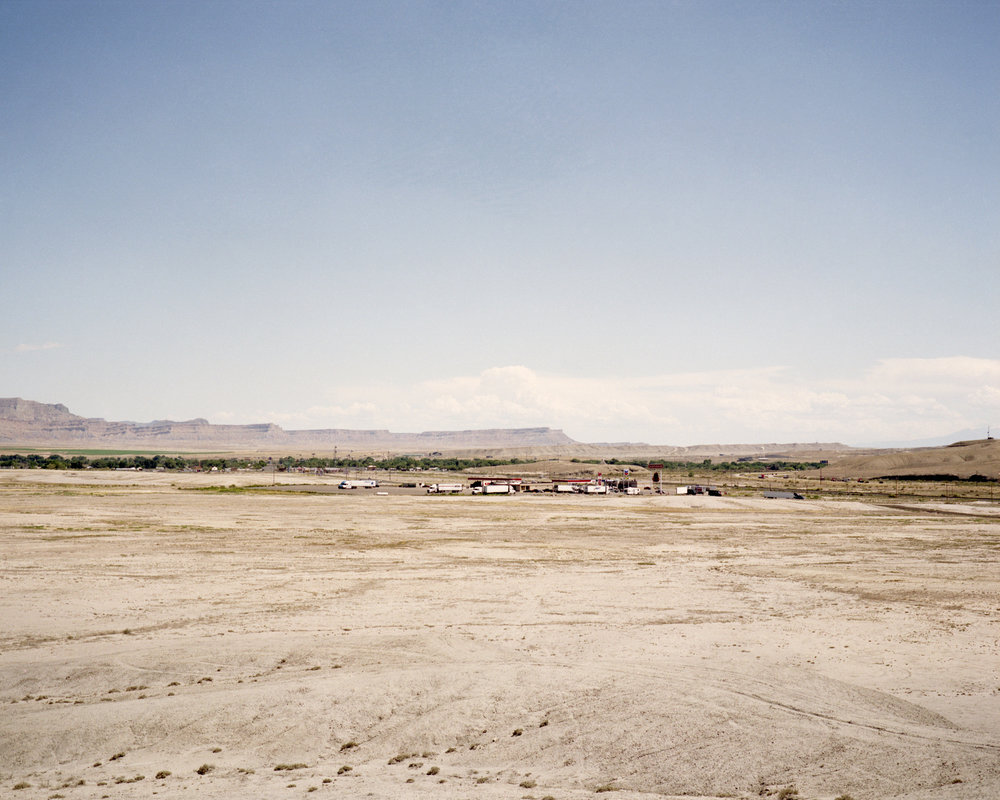 """Gas Island"" in Green River."