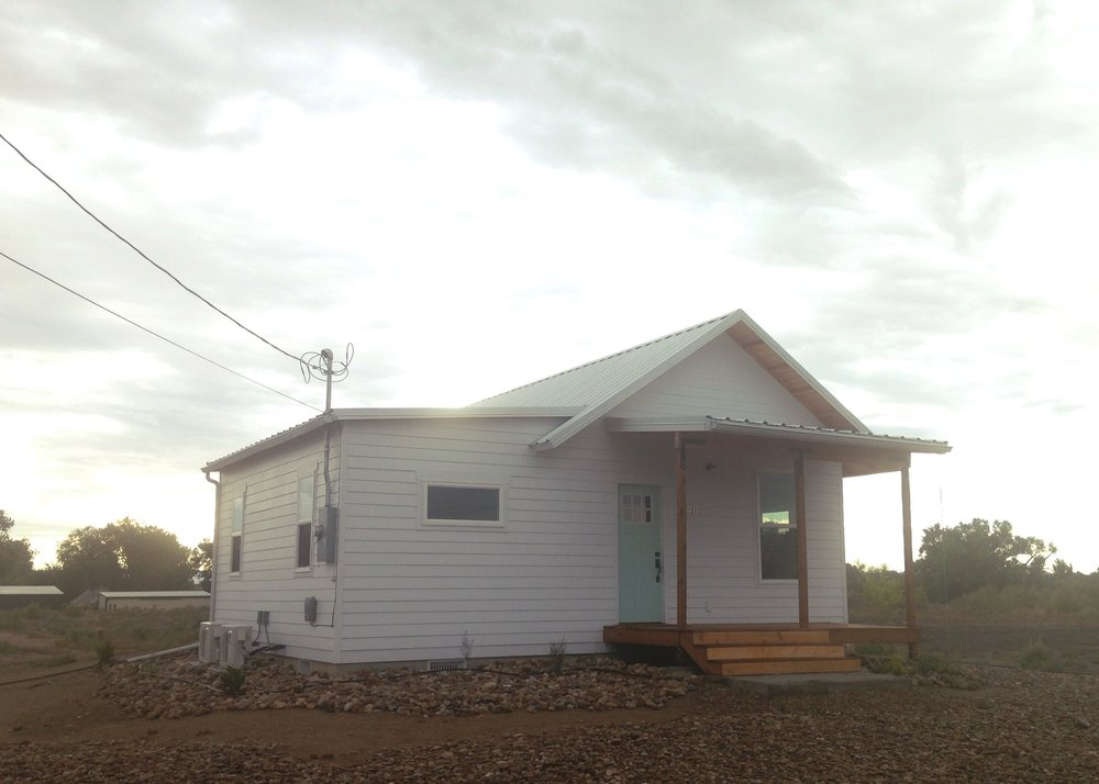 The newly livable Frontier House where I stayed during my fellowship.