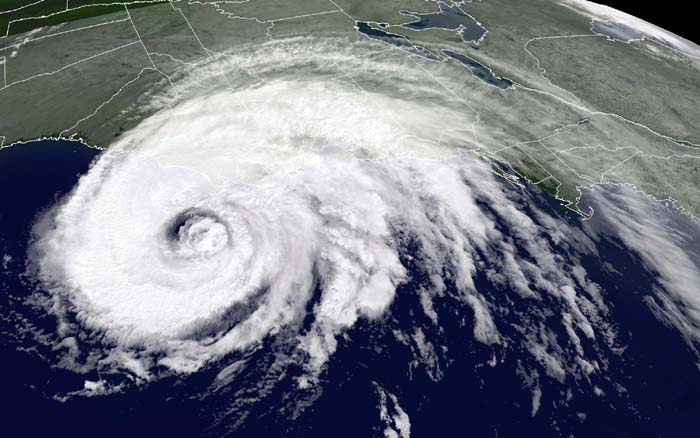 Hurricane Isabel, 2003 (via NOAA)