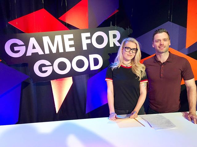Come and join me and Charleyy NOW for the next 8 hours, raising money for @su2c  Search GAME FOR GOOD on YouTube and Twitch.  #gameforgood #su2c #gaming #esports #charity #livetv #host #presenter