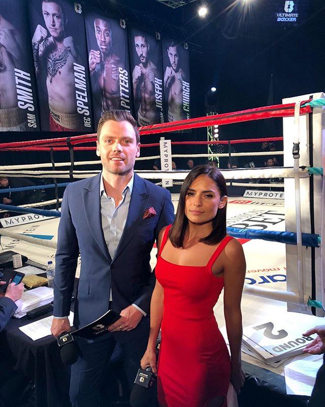 Great night at Ultimate Boxxer.  KO's, comebacks... carnage.  #ultimateboxxer #ultimateboxxerII #boxing #host #presenter #combatsports
