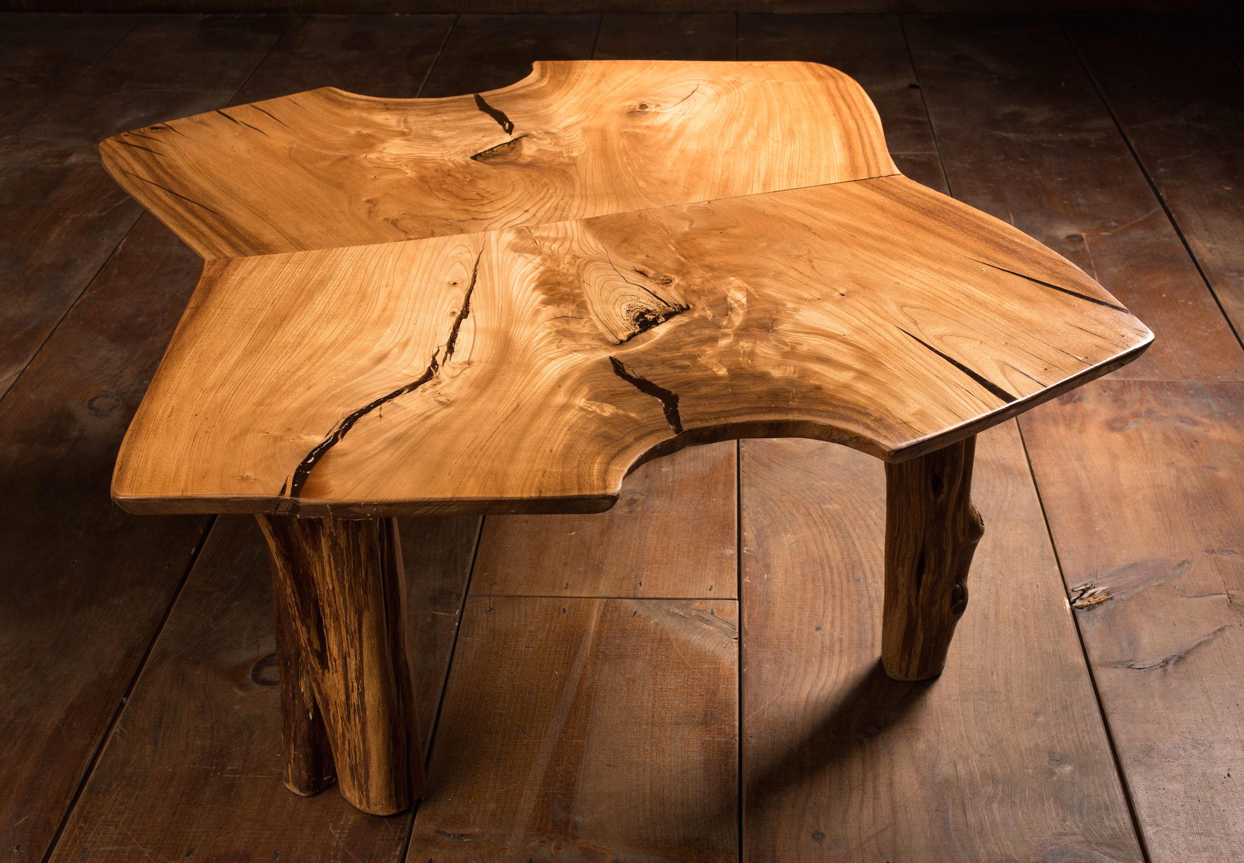 English Elm Coffee Table — Corkiture