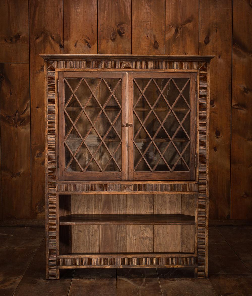 Corner Wine Cabinet / Bookcase