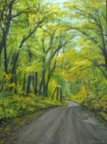 BLUE TRAIL ROAD 30 X 40  AVAILABLE