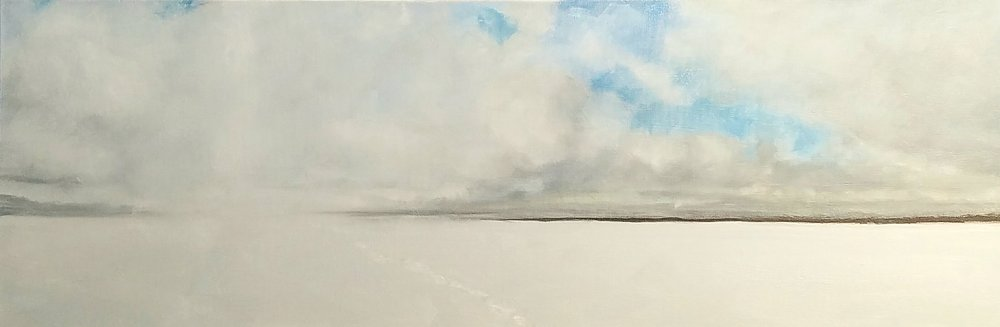 SNOW SQUALL OVER LAKE $1,125